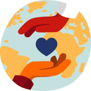 hands-heart-world