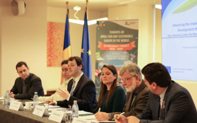 Seminar on Agenda 2030 – first event organised by FOND Romania in the context of the EU Presidency Project