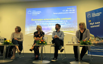 Europe against inequality -panel discussion in Turku