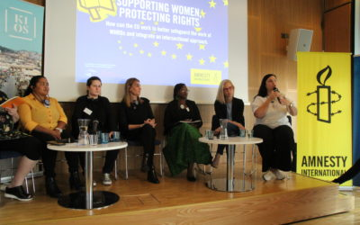 Raising public awareness about human rights and EU policies