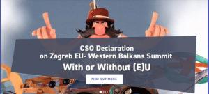 SIGN CSO Declaration on Zagreb EU – Western Balkan Summit