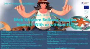 JOIN Online Western Balkans Shadow Summit!