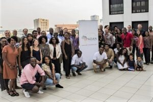 Group photo of the members of the Afro German Academics Network. Copyright: ADAN e.V.