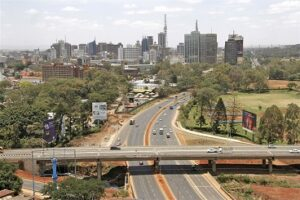 View of the centre of Kenya's capital Nairobi. Copyright: Demosh/Flickr