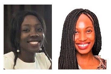 Global activists for the ONE campaign: Zigwai Tagwai from Nigeria (left) and Merryl Omondi from Kenya (right). Copyright: Zigwai Tagwai, Merryl Omondi