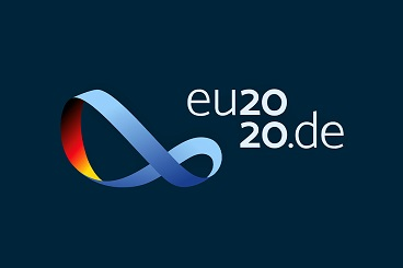 Logo of the German EU Presidency 2020. Copyright: Federal Foreign Office