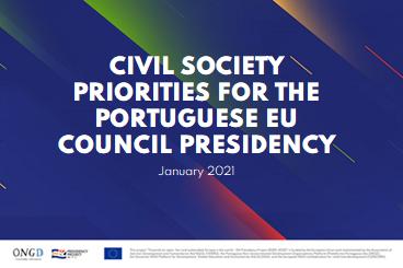 Civil Society Priorities for the Portuguese EU Council Presidency