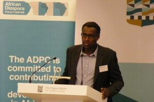 Dr Awil Mohamoud, Director of the ADPC. Copyright: African Diaspora Policy Centre
