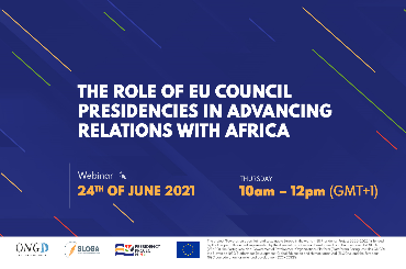 """""""The role of EU Council Presidencies in advancing relations with Africa"""" Webinar"""