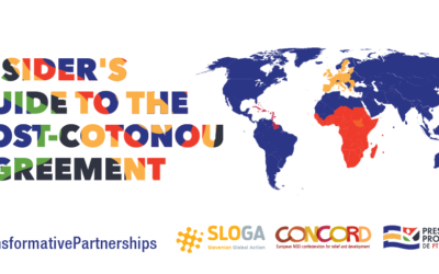 Insider's Guide to the post-Cotonou Agreement Launch event